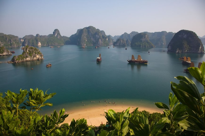 Titov Island overlooking Vietnam Ha Long Bay New7Wonders of Nature