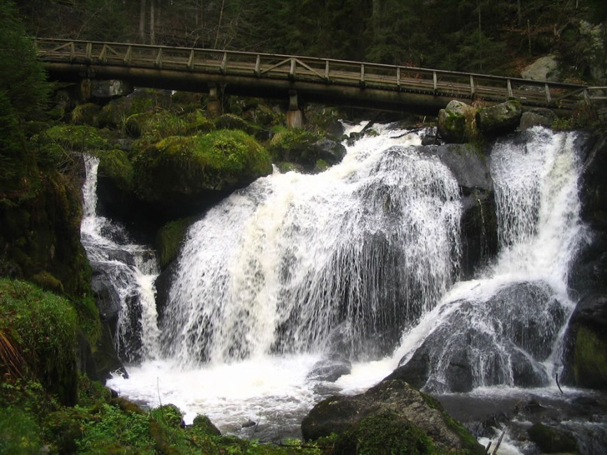 Triberg, Germany - Largest Waterfall in Germany