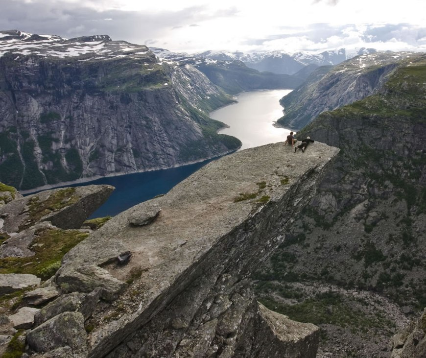 Troll's Tongue - Trolltunga in Odda