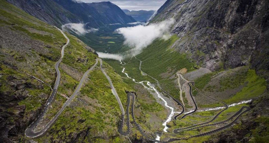 Trollstigen - Troll's Path - Norway