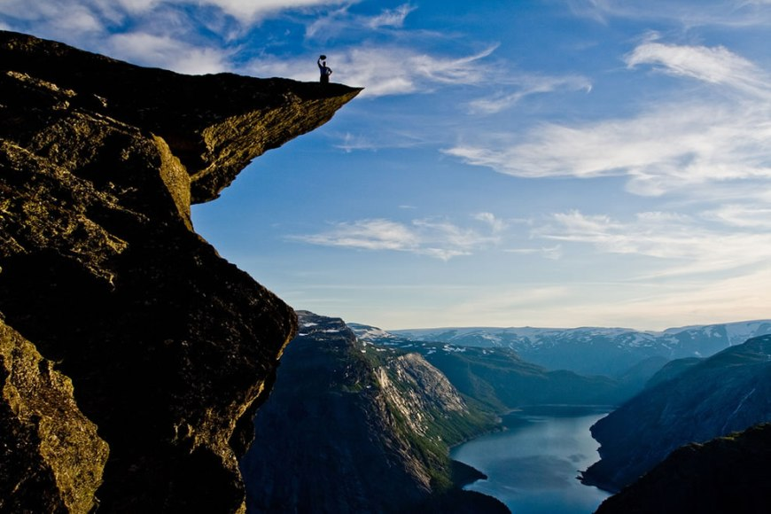 Trolltunga Norway Cliff