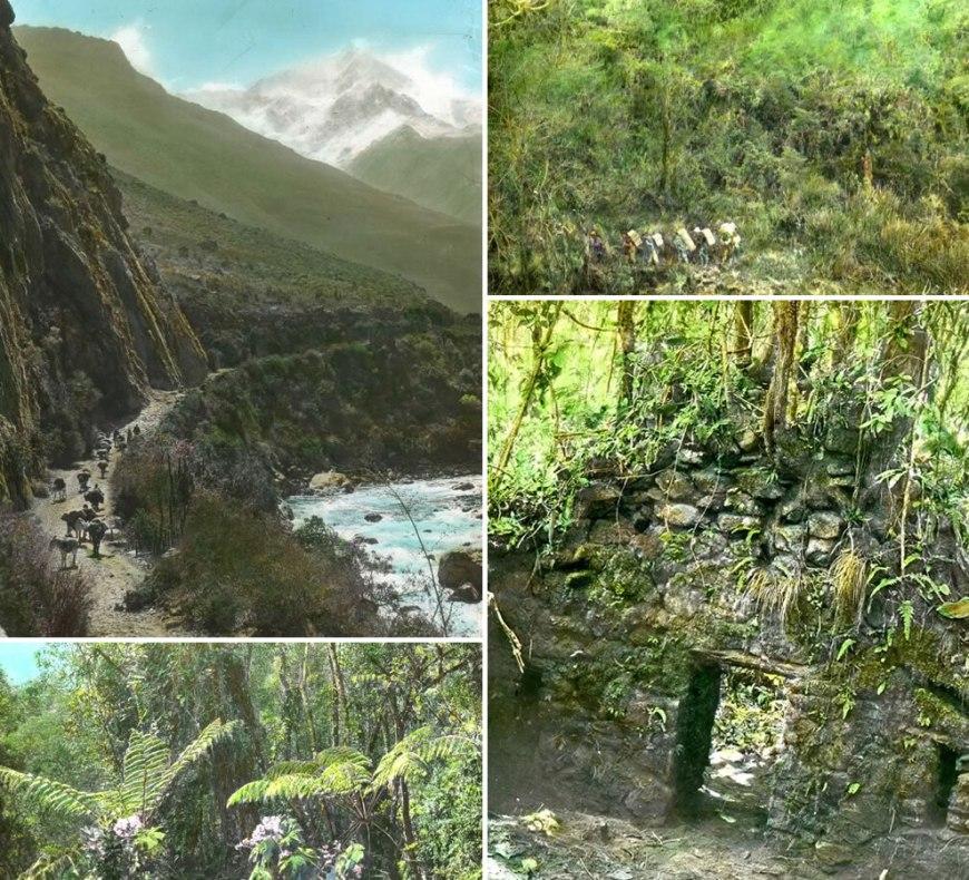 1911 Bingham expedition to Machu Picchu in Peru