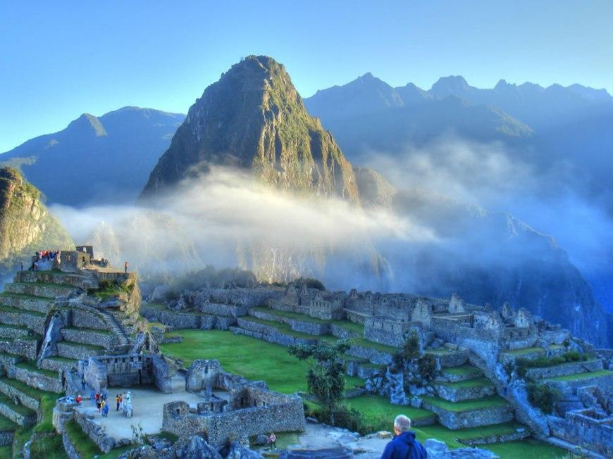 An Incan sunrise