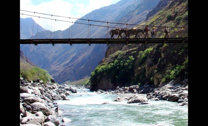 Choquequirao Trek to Machu Picchu in Peru