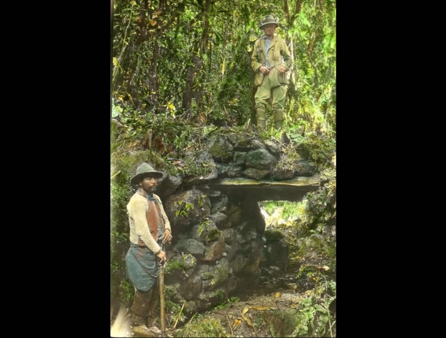 Meet Hiram Bingham III, aka Indiana Jones, who rediscovered Machu Picchu