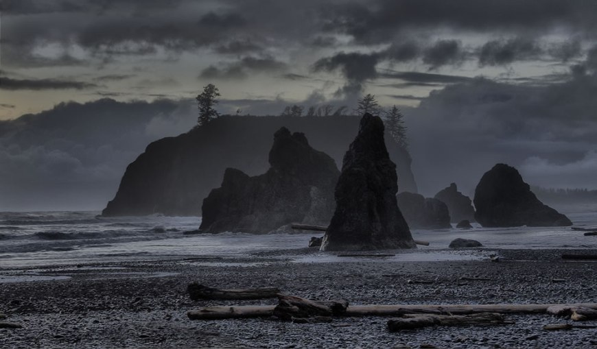 Ruby Beach, WA, in Olympic National Park