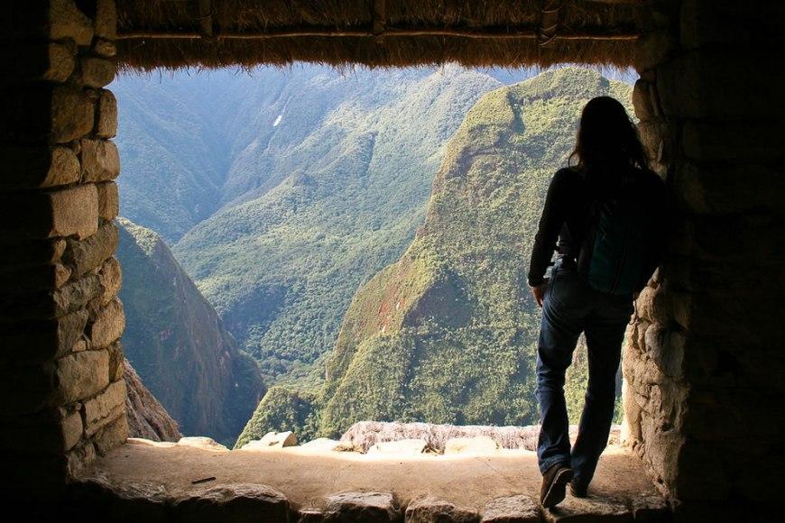 Shrine at Holy City of the Incas