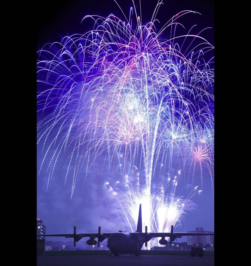 USAF Grand Fireworks Finale