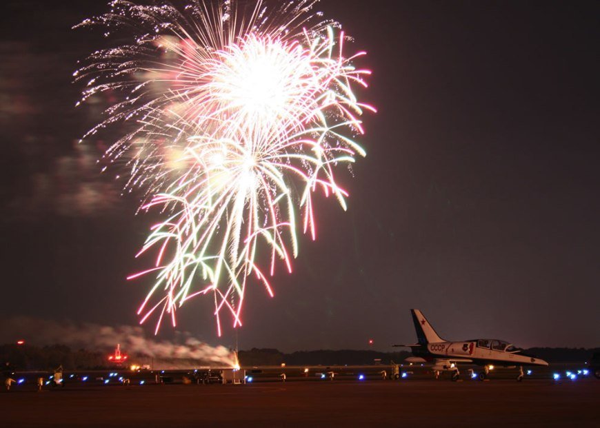 Virginia Beach, Va, Fireworks - Naval Air Station Oceana Air Show