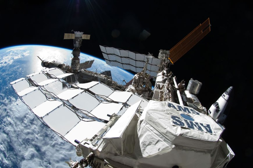 Atlantis and ISS - Through the Astronaut's Eyes