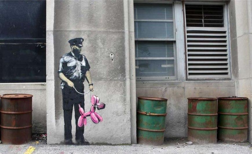 Banksy - muzzled