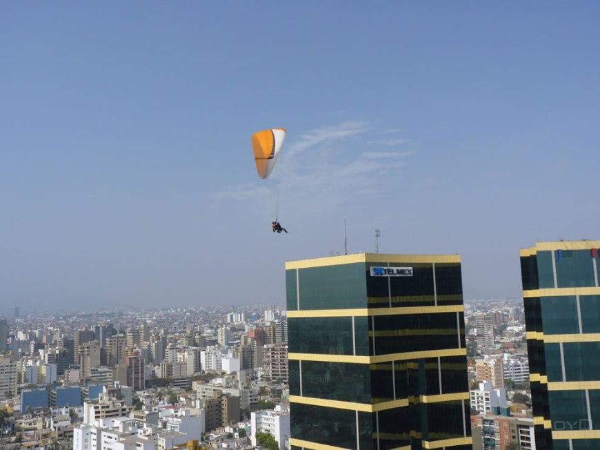 dual paragliding Lima Peru