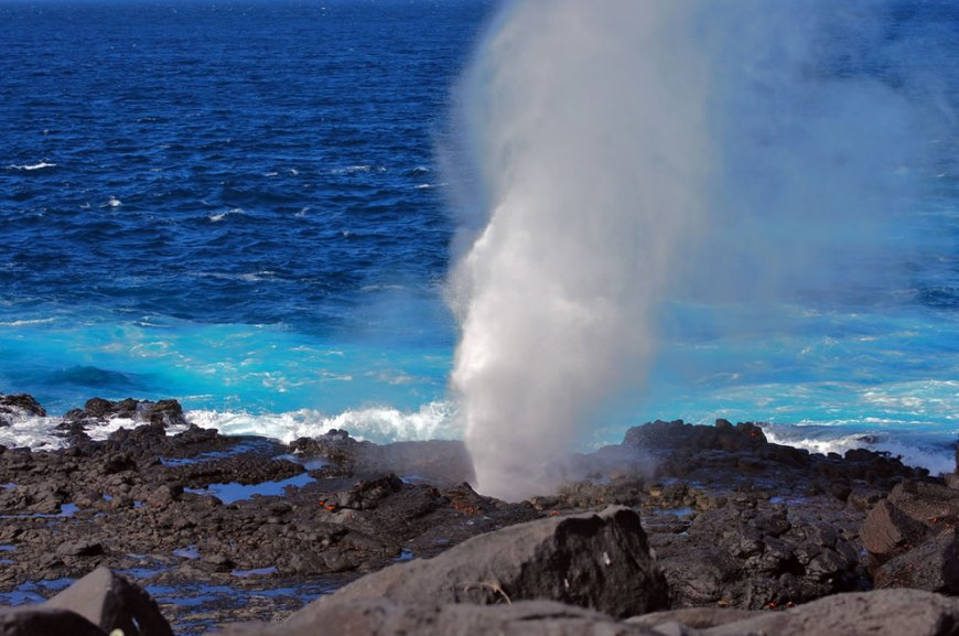 Galapagos Blowhole