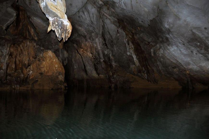 inside Puerto Princesa underground river