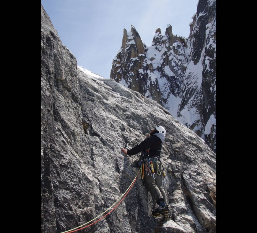 Into the Unknown - Moving off into 5.9R rock, the Battle of Britain, London Tower, Denali NP