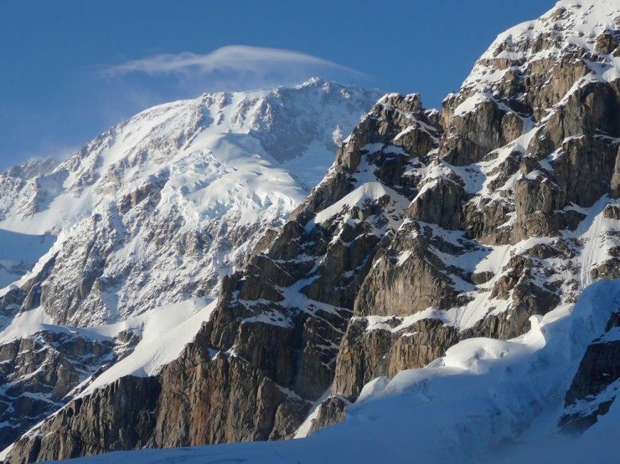 Lenticular cap over Mt. McKinley
