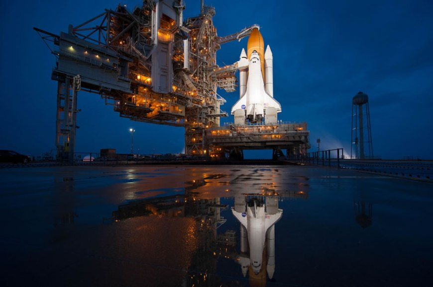 STS-135 Atlantis Prelaunch