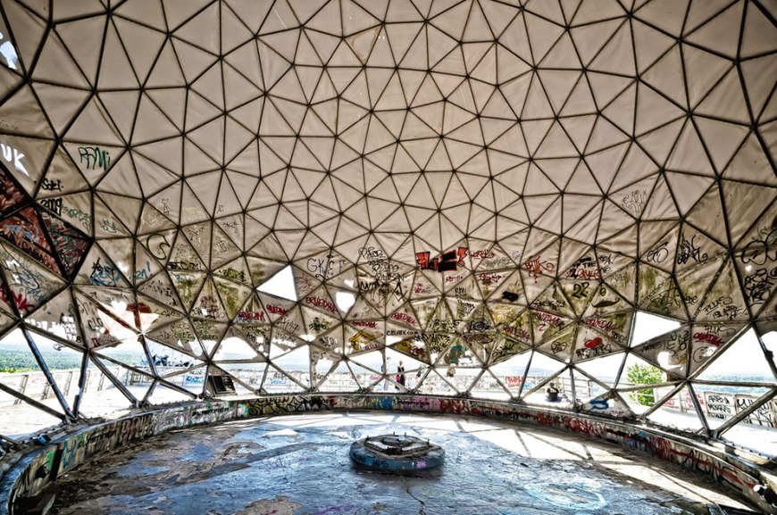 Teufelsberg abandoned by NSA Listening Station