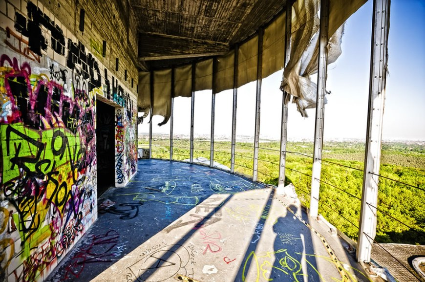 Teufelsberg Devil's Mountain US National Security Agency Listening Station