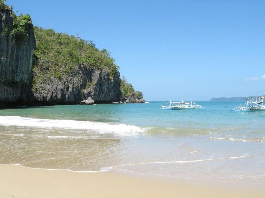 Underground river beach, Palawan, Philippines