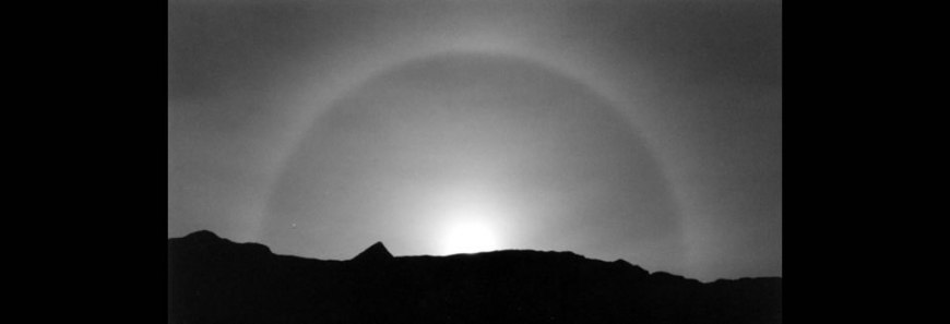 White Rainbow, a moonbow