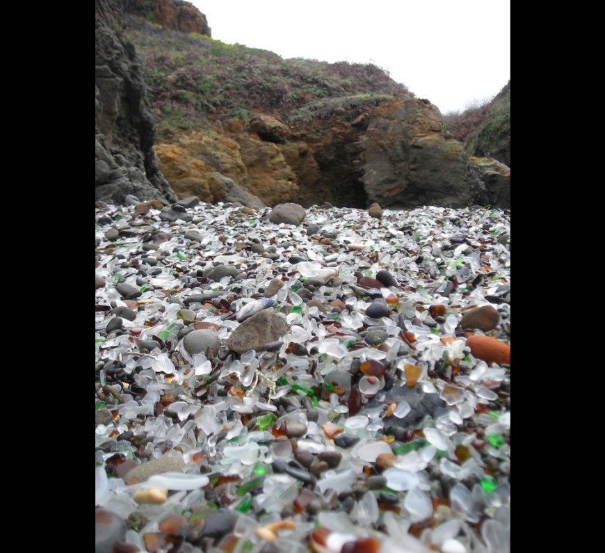 Beach of Sea Glass