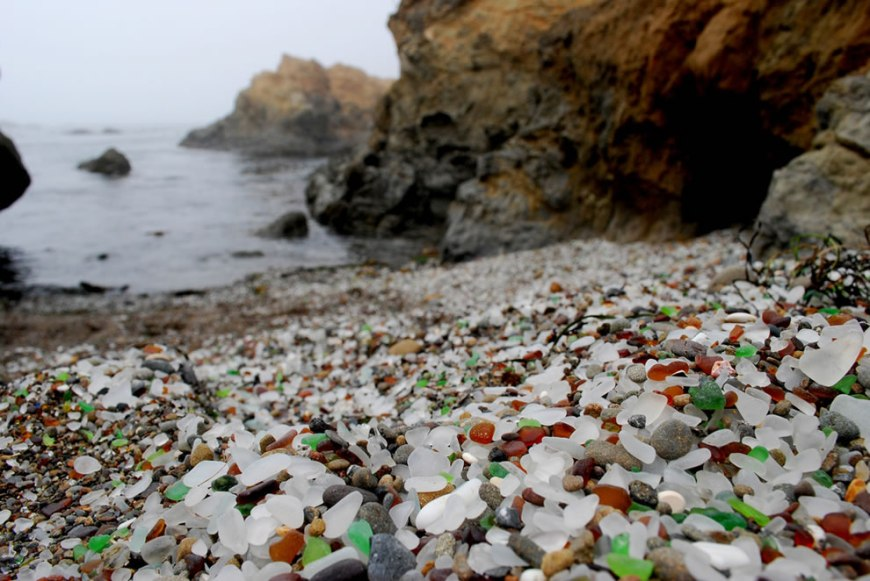 environmental healing power of nature at glass beach