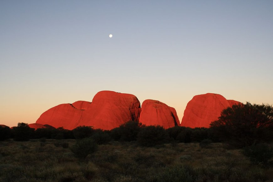 Sunset On The Olgas (Kata Tjuta)
