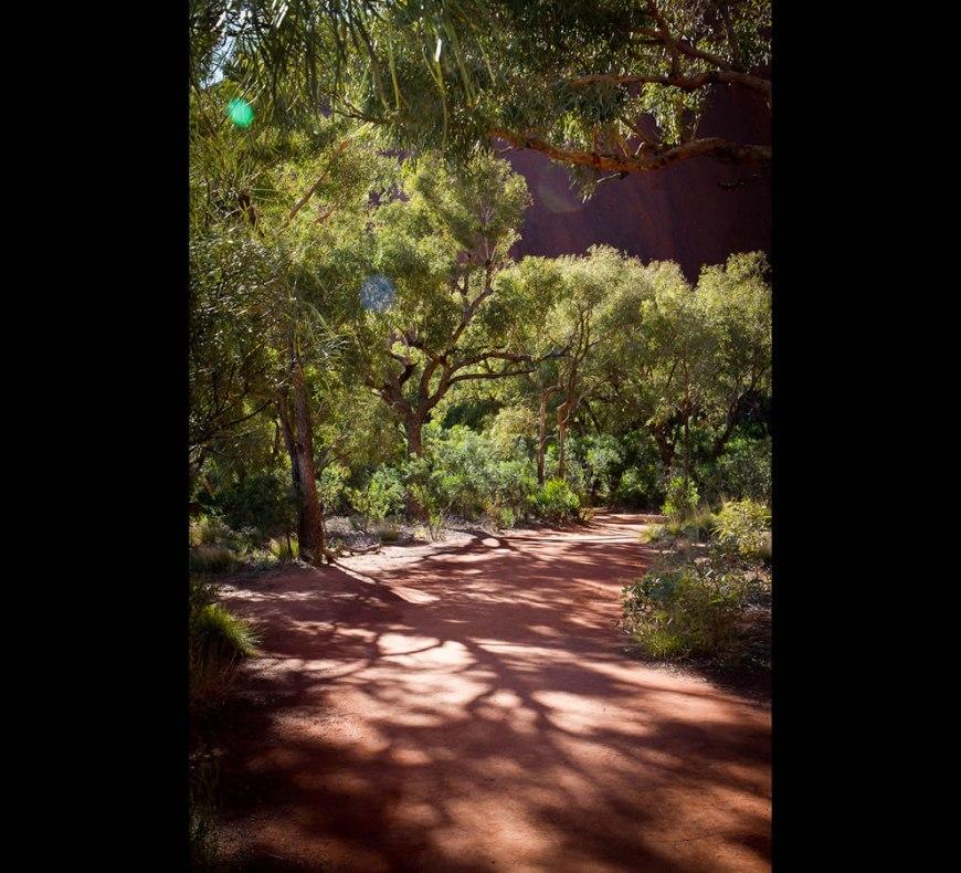 Track around Uluru