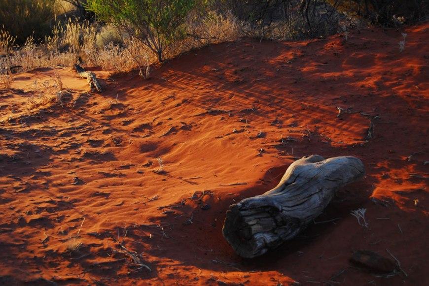Uluru dust
