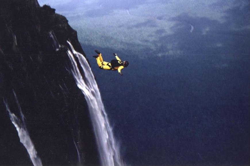 Base Jump Angel Falls Venezuela