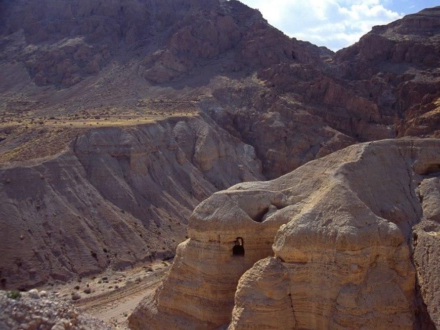 Cave of the Dead Sea Scrolls - Qumran Cave
