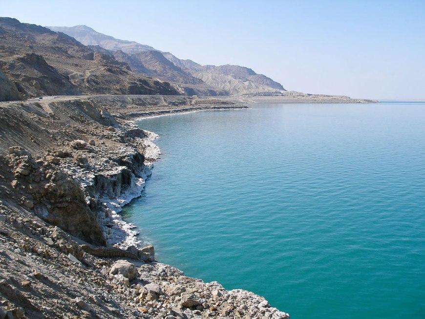 Dead Sea from Jordan