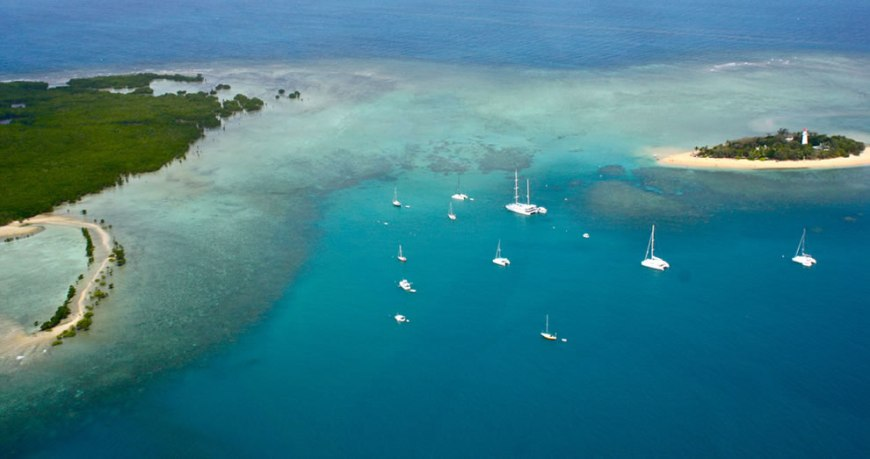 Helicopter - Great Barrier Reef