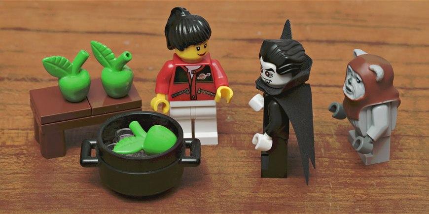 Lego Apple Bobbing