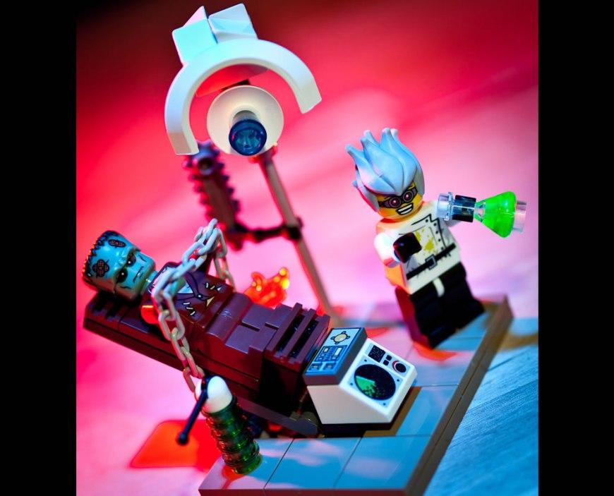Lego Frankenstein - It's ALIVE