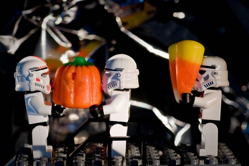 Lego Star Wars Pumpkin Duty