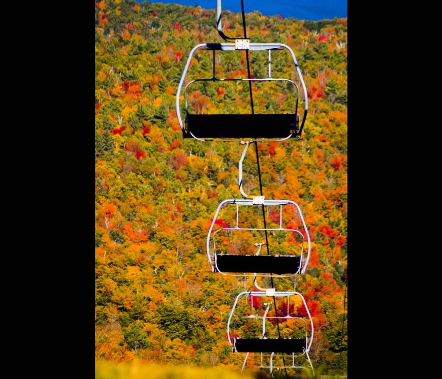 Mt. Sunapee and Sunapee Express - a New Hampshire fall