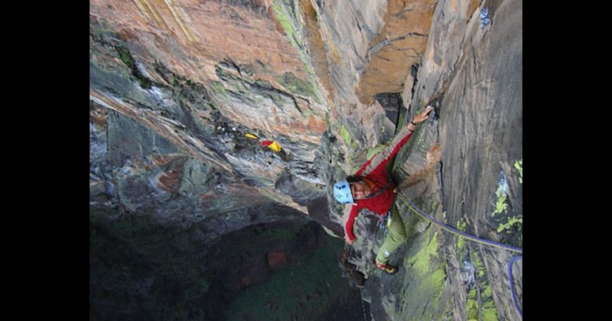 Rainbow Jambaia - the climb