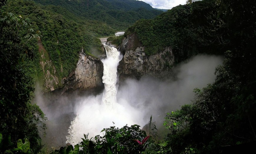 The San Rafael Falls - Amazon jungle