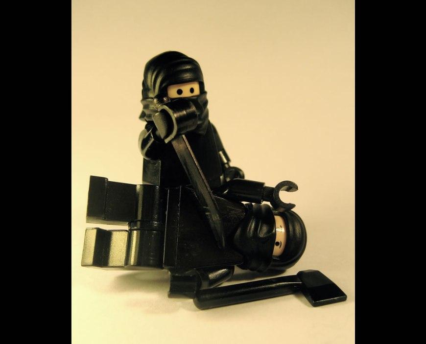 When Lego Ninja Attack