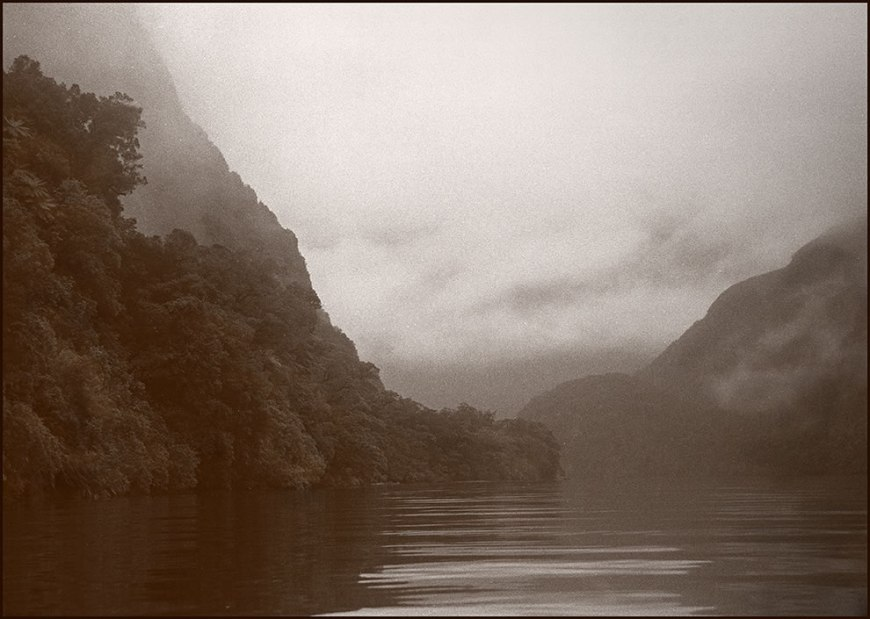 Milford Sound, New Zealand - analog archives 1997