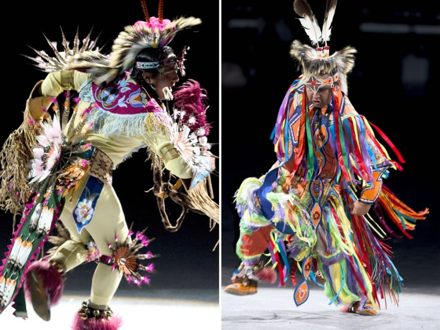 Native American Dancers at National Pow-Wow