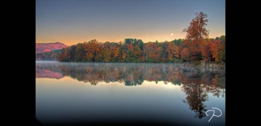 Sunrise, Moonset