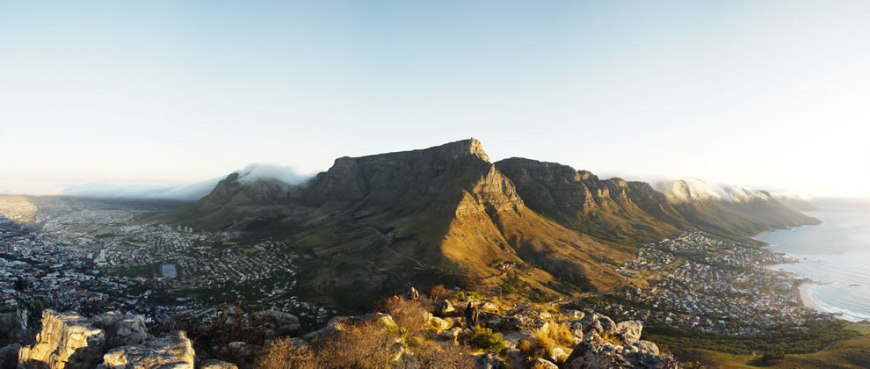 Table Mountain from Cape Town, South Africa