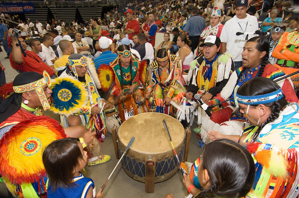 The-drum-groups-are-the-heart-of-all-powwows-and-provide