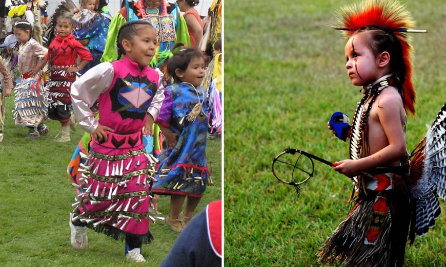 Tiny Tots at Pow Wows