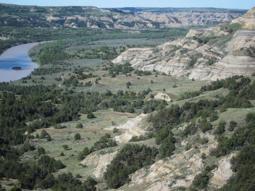 Little Missouri River at Theodore Roosevelt National Park (North Unit), North Dakota