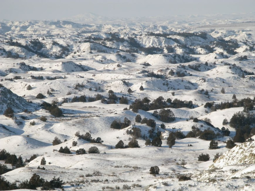 TRNP badlands winter