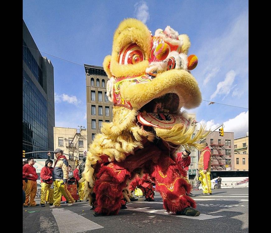 Chinese New Year NYC - Dragon Dance